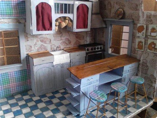 Всем привет) Ох и долго меня здесь не было, учеба...  Сегодня я к вас с дополнением к моему кухонному гарнитуру- это плита и вытяжка. фото 10