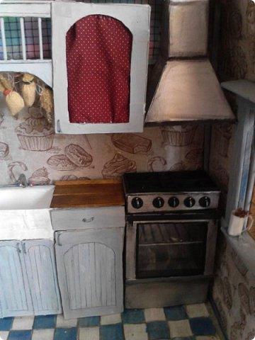 Всем привет) Ох и долго меня здесь не было, учеба...  Сегодня я к вас с дополнением к моему кухонному гарнитуру- это плита и вытяжка. фото 1