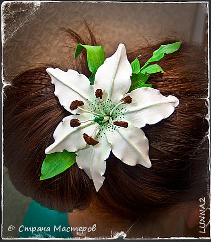 Лилия на шпильке фото 2