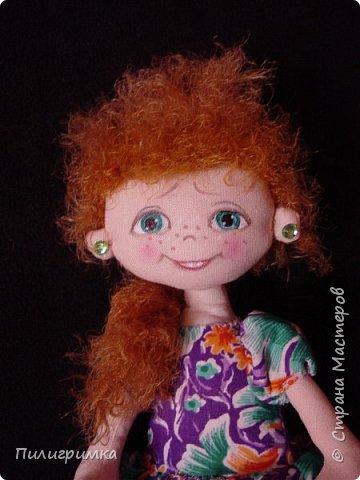 Куколки сшиты из бязи. фото 3