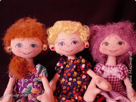 Куколки сшиты из бязи. фото 9