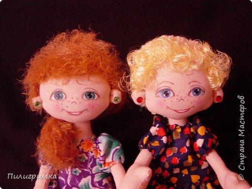 Куколки сшиты из бязи. фото 10