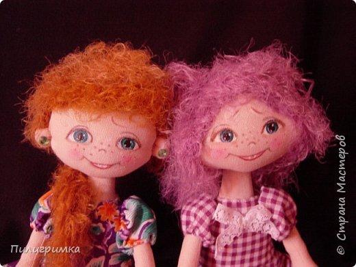 Куколки сшиты из бязи. фото 1