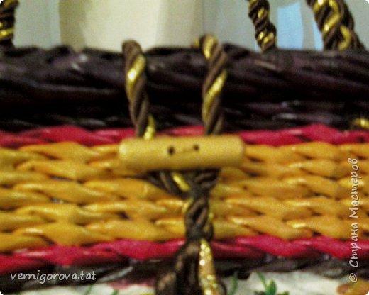 Здравствуйте дорогие мои соседи, жители и гости прекрасной Страны Мастеров! Вот сплела в подарок такую сумку по МК Елены Тищенко https://www.youtube.com/watch?v=w2otb5XJZGo .Леночка, спасибо большое.  фото 4