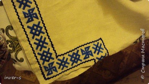 Вот такой обережный славянский пояс сделала своими руками) Это мой первый опыт в ткачестве на бердо.А сподвигло освоить эту технику рукоделия, подаренная мной на Новый год мужу славянская рубаха.Что пояс, что рубаха сделаны с определённой смысловой нагрузкой  - с использованием в работе защитных славянских рун.   Пояс. фото 4