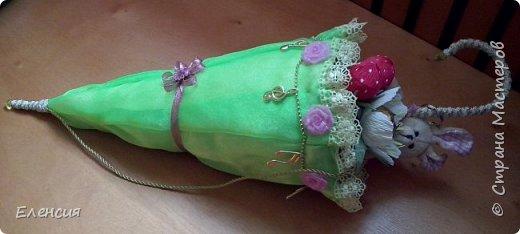 Подарочный зонтик с конфетками внутри. Спасибо за МК  Т.Н. Ульяновой https://stranamasterov.ru/node/750450?tid=451   фото 1