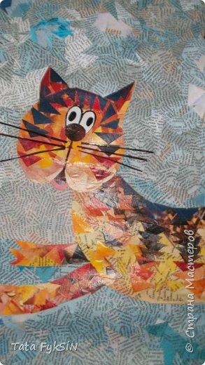"""Спасибо Таня Сорокина за МК ! Теперь  у нас летающий кот!  Ликвидация журналов """"1000 советов """" прошла успешно . Кот от советов очень умный получился фото 6"""