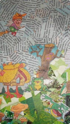 """Спасибо Таня Сорокина за МК ! Теперь  у нас летающий кот!  Ликвидация журналов """"1000 советов """" прошла успешно . Кот от советов очень умный получился фото 10"""