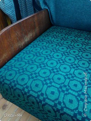 Здравствуйте! Есть у нас от свекрови диван.Ну так вот... Трогать его нельзя.Но я рискнула фото 2