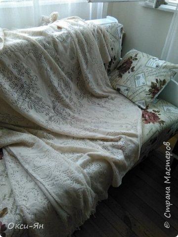 Здравствуйте! Есть у нас от свекрови диван.Ну так вот... Трогать его нельзя.Но я рискнула фото 6