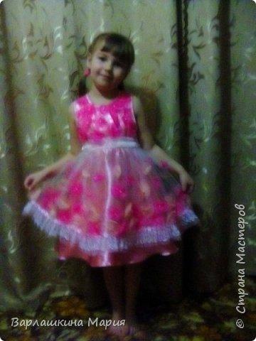 Платье на выпускной в садик фото 1