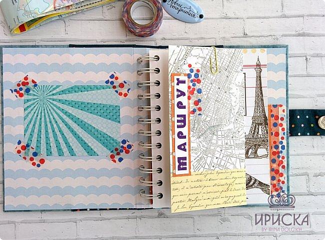 комплект для путешествий состоит из холдера для документов и блокнота для записи впечатлений от поездки, т.н. travel book. фото 7