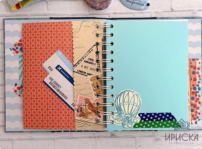 комплект для путешествий состоит из холдера для документов и блокнота для записи впечатлений от поездки, т.н. travel book. фото 9