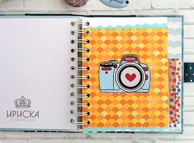 комплект для путешествий состоит из холдера для документов и блокнота для записи впечатлений от поездки, т.н. travel book. фото 10