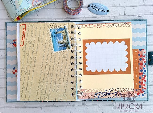 комплект для путешествий состоит из холдера для документов и блокнота для записи впечатлений от поездки, т.н. travel book. фото 16