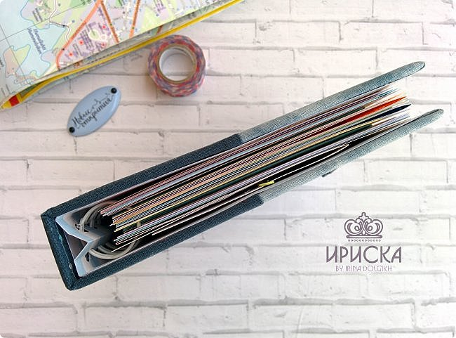 комплект для путешествий состоит из холдера для документов и блокнота для записи впечатлений от поездки, т.н. travel book. фото 17