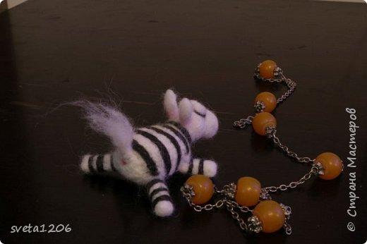 Встречайте, зебра. Зебру ,надеюсь, назовет ее хозяйка. Она была подарена моей подруге Татьяне. Картинку увидела в инете и загорелась ... фото 3