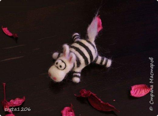 Встречайте, зебра. Зебру ,надеюсь, назовет ее хозяйка. Она была подарена моей подруге Татьяне. Картинку увидела в инете и загорелась ... фото 4