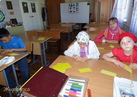 """Летний лагерь при монастыре дети решили назвать """"Ромашка"""". Сначала просто сделали ромашку, потом я решила собрать панно, а потом и добавить пчёлок. фото 33"""