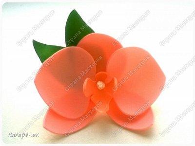 Резиночка для волос персикового цвета ;).  фото 1