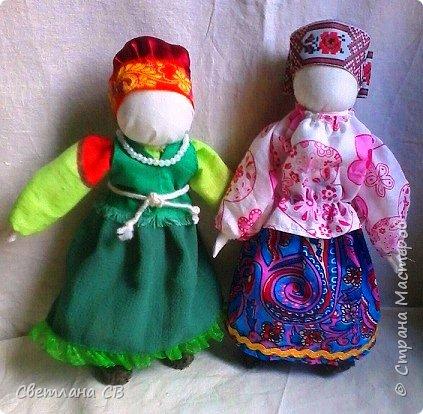 "народные куклы ""Кумушки"" фото 1"