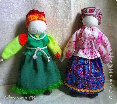 "народные куклы ""Кумушки"" фото 6"