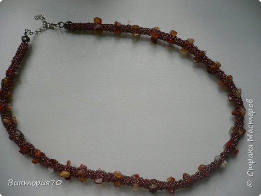 Ожерелье- жгут.2014г. фото 2