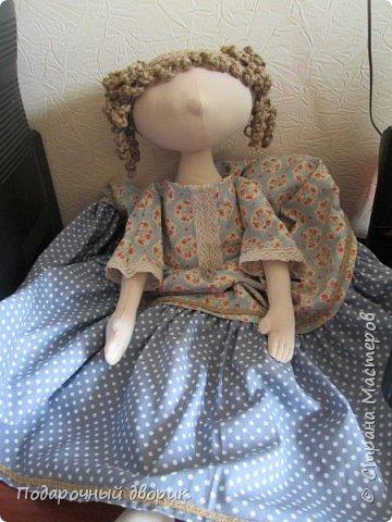 Доброго всем дня! Сшилась очередная кукла-пакетница. фото 12