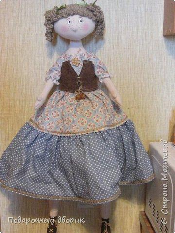 Доброго всем дня! Сшилась очередная кукла-пакетница. фото 8