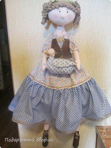 Доброго всем дня! Сшилась очередная кукла-пакетница. фото 9