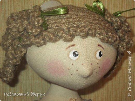 Доброго всем дня! Сшилась очередная кукла-пакетница. фото 6