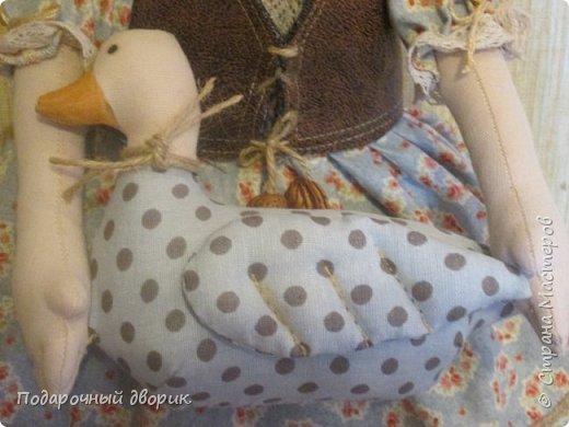 Доброго всем дня! Сшилась очередная кукла-пакетница. фото 5