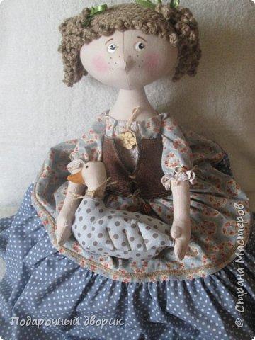 Доброго всем дня! Сшилась очередная кукла-пакетница. фото 4