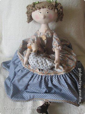 Доброго всем дня! Сшилась очередная кукла-пакетница. фото 2
