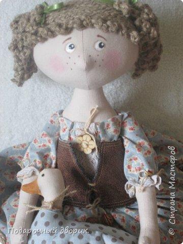 Доброго всем дня! Сшилась очередная кукла-пакетница. фото 1