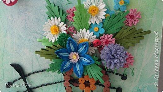 Тележка с цветами. Окончательный вариант фото 1