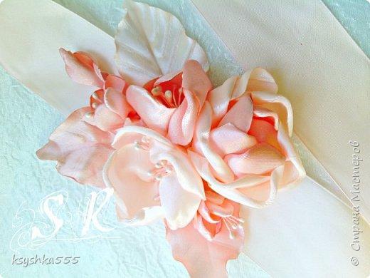 Пояс для свадебного платья фото 2