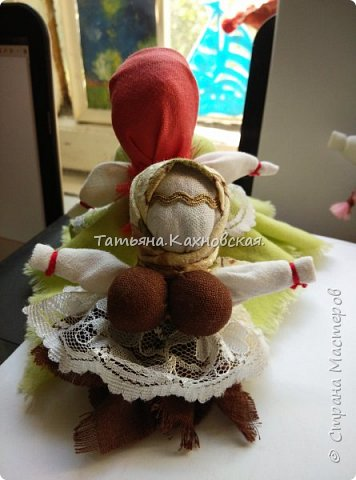 куколка КАПУСТКА. или ВЕПСКАЯ кукла фото 1