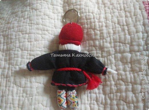 За основу взяла куклу (скрутку):  Летопроводец и  куколку НА СЧАСТЬЕ.Получилась вот такая куколка в подарок мужу на день рождения. фото 7