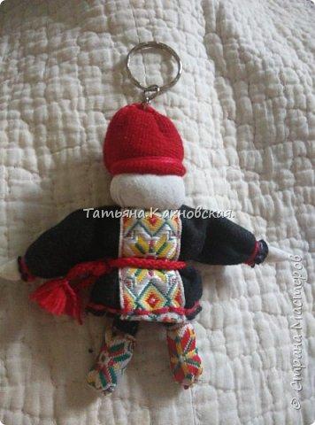 За основу взяла куклу (скрутку):  Летопроводец и  куколку НА СЧАСТЬЕ.Получилась вот такая куколка в подарок мужу на день рождения. фото 8