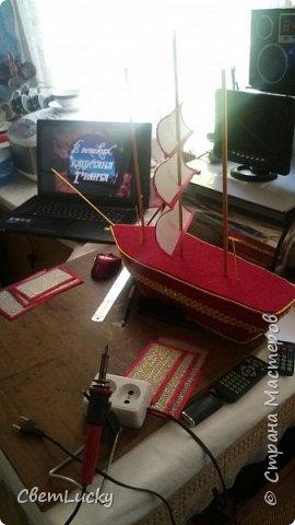 МК из серии всё первое, первый корабль, первый мк в свит-диз, первый год 2015-й работы в свит-диз фото 19