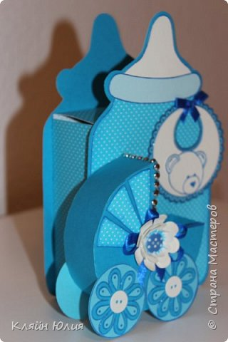 "Упаковка для подарка ""Бутылочка"" фото 2"