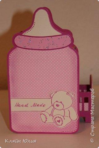 "Упаковка для подарка ""Бутылочка"" фото 8"