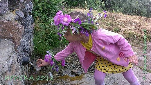 Приветствую замечательных и талантливых жителей Страны Мастеров!!! Муза моя витает где-то далеко от меня, я уже скучать по ней начала... Зато природа вдохновляет своими запахами, цветением и буйством красок!!! После дождя все особенно живое и яркое, а застывшие капли завораживают.  фото 20