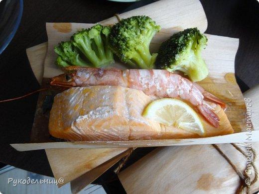 Всем доброго дня. Предлагаю вкусный, лёгкий способ приготовления рыбки, для тех кто раздобудет такую бумагу-гриль. фото 9