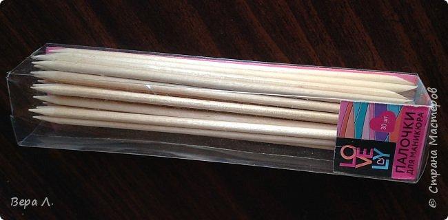 Зайдя в магазин, где всё по 50, увидела вот такие палочки для маникюра. Не удержалась, купила, пришла домой...  фото 2