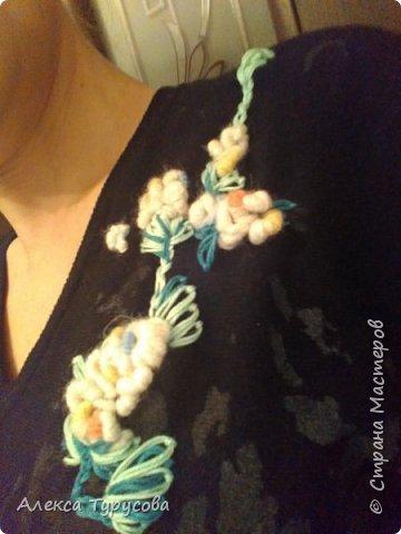 Обычный свитер зацвёл))) фото 3