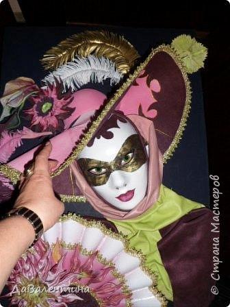 Дорогие друзья, продолжаю Мастер-класс по картине «Венецианский карнавал-2». фото 5