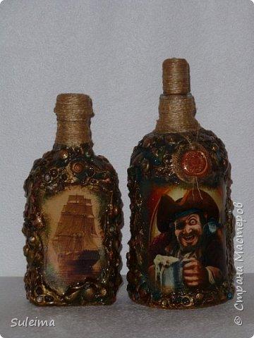 Декор бутылок фото 2