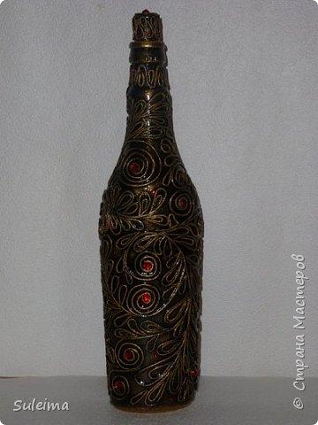 Декор бутылок фото 8